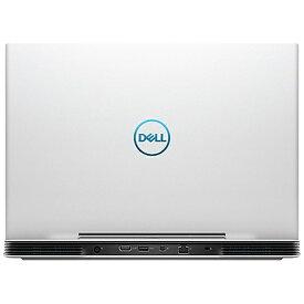 DELL デル NG75VR-9NLCW ゲーミングノートパソコン Dell G5 15 5590 ホワイト [15.6型 /intel Core i7 /HDD:1TB /SSD:256GB /メモリ:8GB /2019年夏モデル][NG75VR9NLCW]