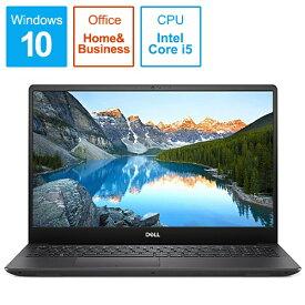 DELL デル NI765-9NHBC ノートパソコン Inspiron 15 7000 7590 ブラック [15.6型 /intel Core i5 /SSD:256GB /メモリ:8GB /2019年夏モデル][15.6インチ office付き 新品 windows10 NI7659NHBC]
