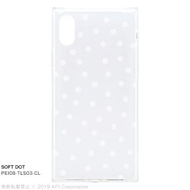 アピロス apeiros EYLE TILE SOFT DOT for iPhone XS/X