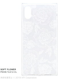 アピロス apeiros EYLE TILE SOFT FLOWER for iPhone XS/X