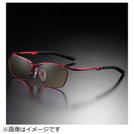 ニデック NIDEK G-SQUAREアイウェア Casual Model フルリム C2FGEF4RENP9263 フレーム:レッド、レンズ:ワインレッド