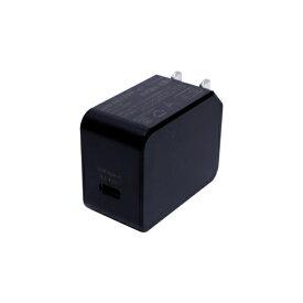 ミヨシ MIYOSHI USB PD対応USB-ACアダプタ 20W(Type-C 1ポート)黒 IPA-C04/BK