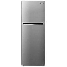 ハイセンス Hisense 《基本設置料金セット》HR-B2302 冷蔵庫 ダークシルバー [2ドア /右開きタイプ /227L][冷蔵庫 大型 HRB2302]【zero_emi】