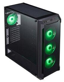 FSP FSP製 ミドルタワー PCケース RGB LEDファン搭載 CMT520 ブラック