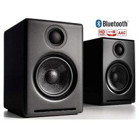 Audioengine オーディオエンジン ブルートゥーススピーカー(ペア) サテン・ブラックペイント [Bluetooth対応][A2+WIRELESSB]