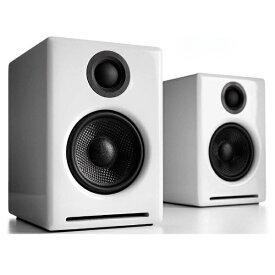Audioengine オーディオエンジン ブルートゥーススピーカー A2+WIRELESSW ハイグロス・ホワイトペイント [Bluetooth対応][A2+WIRELESSW]