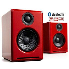 Audioengine オーディオエンジン ブルートゥース スピーカー ハイグロス・レッドペイント [Bluetooth対応][A2+WIRELESSR]