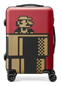 【発売日未定】 任天堂販売 スーパーマリオ トラベル スーツケース(ワインレッド) NSL-0072 [35L]