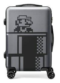 【発売日未定】 任天堂販売 スーパーマリオ トラベル スーツケース(グレー) NSL-0077 グレー [35L]