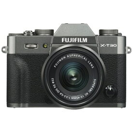 富士フイルム FUJIFILM X-T30-CS ミラーレス一眼カメラ XC15-45mmレンズキット チャコールシルバー [ズームレンズ][FXT30LK1545CS]