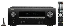 デノン Denon AVR-X2600H AVアンプ DENON ブラック [ハイレゾ対応 /Bluetooth対応 /Wi-Fi対応 /ワイドFM対応 /7.1.2ch /DolbyAtmos対応][AVRX2600HK]