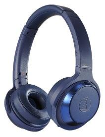 オーディオテクニカ audio-technica ブルートゥースヘッドホン ブルー ATH-WS330BT BL[ATHWS330BTBL]