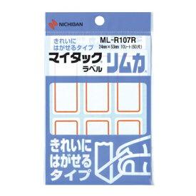 ニチバン NICHIBAN 特殊ラベル リムカ マイタック 赤枠 ML-R107R [10シート /6面]