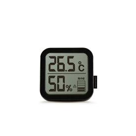 TAGlabel by amadana タグレーベル バイ アマダナ 【ビックカメラグループオリジナル】AT-TH11BK 温湿度計 TAG label by amadana ブラック[湿度計 温度計 壁掛け]【point_rb】