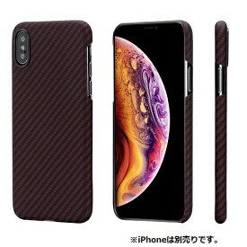 AREA エアリア PITAKA iPhoneXs用アラミドケース KI8003XS KI8003XS レッド/ブラック