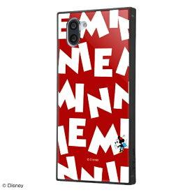 イングレム Ingrem AQUOS R3 / 『ディズニーキャラクター』/耐衝撃ケース KAKU トリプルハイブリッド / 『ミニーマウス/I AM』 IQ-DAQR3K3B/MN006 『ミニーマウス/I AM』