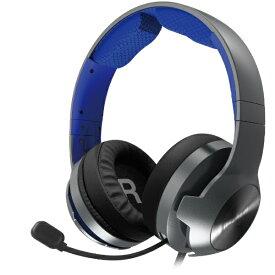 HORI ホリ ホリ ゲーミングヘッドセット プロ for PlayStation 4 ブルー PS4-159【PS4】