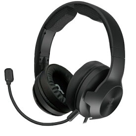 HORI ホリ ホリ ゲーミングヘッドセット ハイグレード for Nintendo Switch ブラック NSW-080【ニンテンドースイッチ ヘッドホン】
