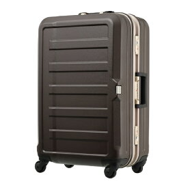 レジェンドウォーカー LEGEND WALKER シボ加工スーツケース 85L モカ 5088-68-MC [TSAロック搭載]