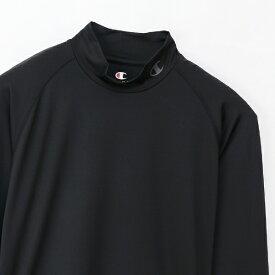 チャンピオン CHAMPION メンズ モックネックロングスリーブTシャツ 19SS チャンピオン(LLサイズ/ブラック) CM4HP261