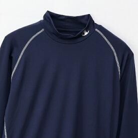 チャンピオン CHAMPION メンズ モックネックロングスリーブTシャツ 19SS チャンピオン(Mサイズ/ネイビー) CM4HP261