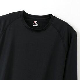 チャンピオン CHAMPION メンズ クルーネックロングスリーブTシャツ 19SS チャンピオン(Lサイズ/ブラック) CM4HP262