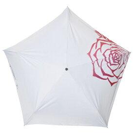 マブ MABU 晴雨兼用折りたたみ傘99.9% SMV40552 Lローズ