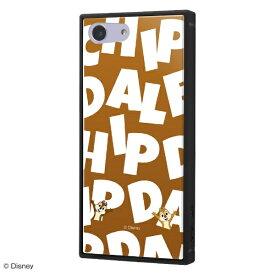 イングレム Ingrem Xperia Ace 『ディズニーキャラクター』/耐衝撃ケース KAKU トリプルハイブリッド IQ-DXPAK3B/CD002 『チップ&デール/I AM』