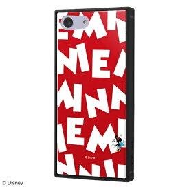 イングレム Ingrem Xperia Ace 『ディズニーキャラクター』/耐衝撃ケース KAKU トリプルハイブリッド IQ-DXPAK3B/MN006 『ミニーマウス/I AM』