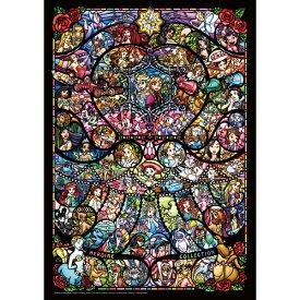テンヨー ジグソーパズル DW-1000-005 ディズニー&ディズニー/ピクサー ヒロインコレクション ステンドグラス