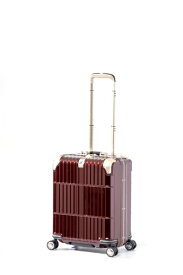 ディパーチャー departure スーツケース ハードキャリー 38L departure シャイニングジュエリーレッド HD-509S-18 [TSAロック搭載]