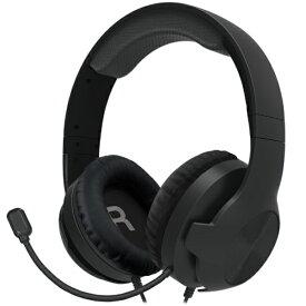 HORI ホリ ホリ ゲーミングヘッドセット スタンダード for PlayStation 4 ブラック PS4-152【PS4】