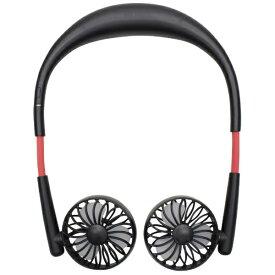 ヒロコーポレーション HE-NTF001B USB扇風機 ブラック