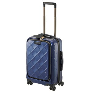 STRATIC ストラティック スーツケース 33L レザー&モア ネイビーブルー 3-9976-55-NV [TSAロック搭載]