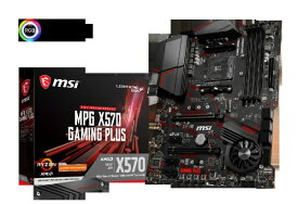 MSI エムエスアイ MSI MPG X570 GAMING PLUS MPGX570GAMINGPLUS [ATX /AM4][MPGX570GAMINGPLUS]