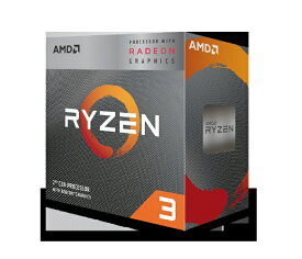 AMD エーエムディー AMD Ryzen 3 3200G With Wraith Stealth cooler (4C4T4.0GHz65W) YD3200C5FHBOX[YD3200C5FHBOX]