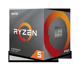 AMD エーエムディー AMD Ryzen 5 3600X With Wraith Spire cooler (6C12T4.4GHz95W) 100-100000022BOX
