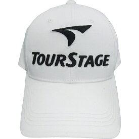 ブリヂストン BRIDGESTONE メンズ ゴルフキャップ TOURSTAGE(ホワイト×ブラック/フリーサイズ:56〜59cm) CPT9BC WK