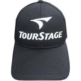 ブリヂストン BRIDGESTONE メンズ ゴルフキャップ TOURSTAGE(ブラック/フリーサイズ) CPT9BC BK