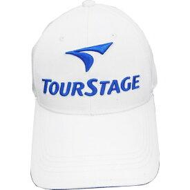 ブリヂストン BRIDGESTONE メンズ ゴルフキャップ TOURSTAGE(ホワイト×ブルー/フリーサイズ:56〜59cm) CPT9BC WB