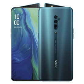OPPO オッポ OPPO Reno 10x Zoom オーシャングリーン「CPH1919OG」Snapdragon 855 6.65型・メモリ/ストレージ:8GB/256GB nanoSIMx2 DSDV対応 ドコモ / au /ソフトバンクSIM対応 SIMフリースマートフォン[スマホ 本体 新品]
