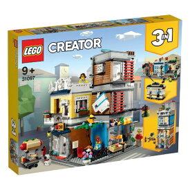 レゴジャパン LEGO 31097 クリエイター タウンハウス ペットショップ&カフェ[レゴブロック]