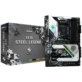 ASROCK アスロック ASRock X570 Steel Legend X570SteelLegend [ATX /Socket AM4(AMD第3・2世代Ryzenプロセッサ対応)][X570STEELLEGEND]