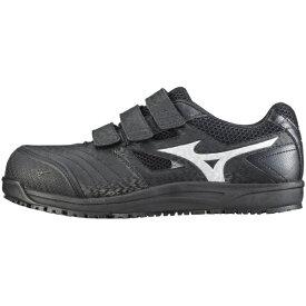 ミズノ mizuno 27.0cm 靴幅:4E メンズ 安全靴 MIZUNO WORKING ミズノ・オールマイティ FF(ブラック×シルバー)C1GA180109【JSAA・普通作業用(A種)耐滑】