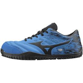 ミズノ mizuno 24.5cm 靴幅:3E メンズ 安全靴 MIZUNO WORKING オールマイティ TD11L(ブルー×ブラック)F1GA190027【JSAA・普通作業用(A種)認定品 耐滑 プロテクティブスニーカー】