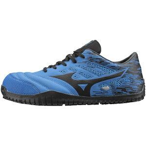 ミズノ mizuno 25.0cm 靴幅:3E メンズ 安全靴 MIZUNO WORKING オールマイティ TD11L(ブルー×ブラック)F1GA190027【JSAA・普通作業用(A種)認定品 耐滑 プロテクティブスニーカー】