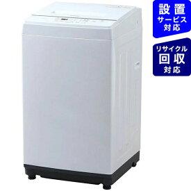 アイリスオーヤマ IRIS OHYAMA KAW-60A 全自動洗濯機 ホワイト [洗濯6.0kg /乾燥機能無 /上開き][洗濯機 6kg KAW60A]