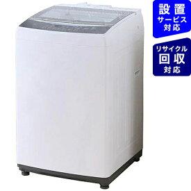 アイリスオーヤマ IRIS OHYAMA 全自動洗濯機 ホワイト KAW-80A [洗濯8.0kg /乾燥機能無 /上開き][洗濯機 8kg KAW80A]