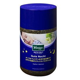 クナイプジャパン Kneipp Japan KNEIPP(クナイプ) バスソルト グーテナハト ホップ&バレリアンの香り 850g【rb_pcp】