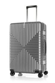 サムソナイト Samsonite スーツケース 73L INTERSECT(インターセクト) シルバー GV5-25002 [TSAロック搭載]